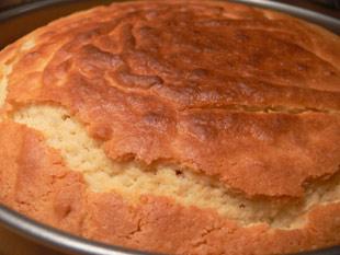 Kuchen nach dem Backen