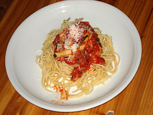 Spaghetti mit Sepia