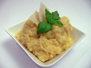 Kartoffelpüree mit Parmesan
