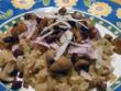 Parmesanpastasotto mit Champignons