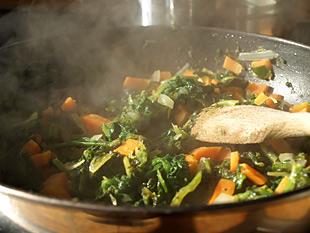 Karotten Spinat