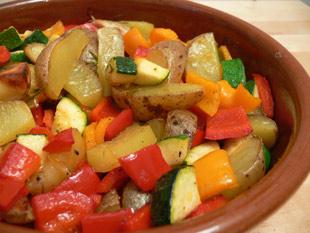 Kartoffeln-Paprika-Zucchini-Rosmarin