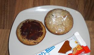 Muffins mit Milchschnitte