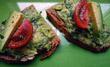 Bärlauch-Avocado Brotaufstrich