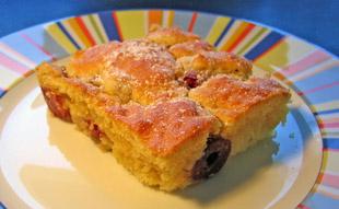 Rezept Einfacher Kirschkuchen Vom Blech Huettenhilfe De