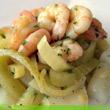 Spargel-Fenchel-Salat mit Garnelen
