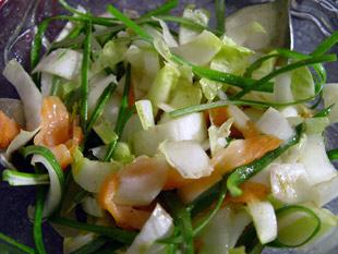 Salat auf der Nähe