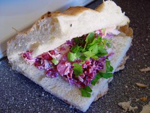 Brote füllen