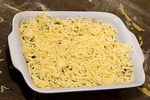 Die fertige Lasagne