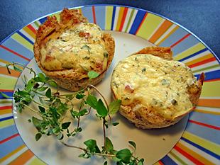 Thymian-Tomaten Muffins