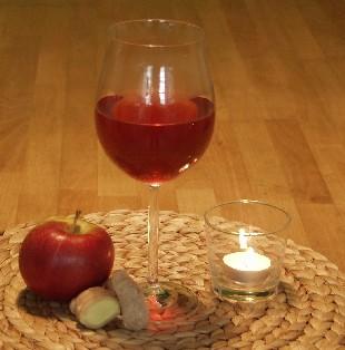 Früchtepunsch mit Ingwer