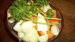 Gemüse Ochsenschwanz