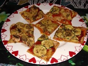 Hefeschmelz Pizzastücke