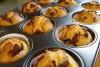 Muffins mit Schokosplittern