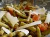Grüner Bohnensalat mit Parmesan