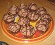 Lebkuchenmuffins mit Nougat-Sahne