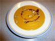 Kürbissuppe mit Mango und Curry