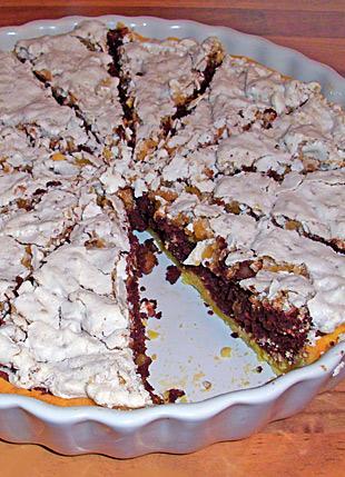 Schokoladen Walnuss Tarte
