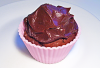Schokoladige Schoko-Muffins mit Schokotopping
