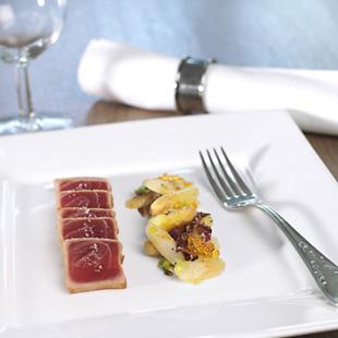 Spargelsalat mit Thunfisch