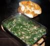 Spinat mit Hackfleisch und Pinienkernen