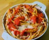 Makkaroni mit Chorizo und Tomaten