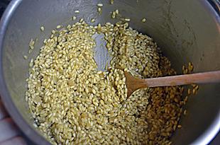 Reis rühren