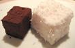 Marshmallows mit Rosen- und Schokogeschmack