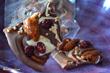 Marmorierte Bruchschokolade
