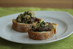 Crostini alla Toscana