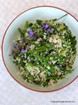 Couscous-Salat mit grünem Frühlingsgemüse