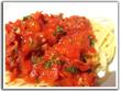 Spaghetti mit tomatiger Chorizo-Sherry-Sauce