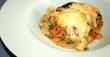 Lasagne mit Spinatsauce