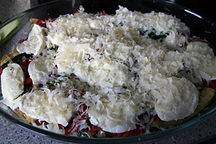 Parmigiana di Zucchine e acciughe