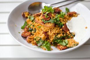 Couscous-Pfanne mit Chorizo