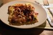 Zwiebel-Ricotta-Tarte mit Greyerzer und Speck