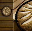 Tarte aux poires, cardamom et chocolate