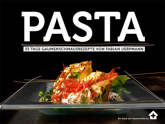 Pasta Kochbuch von Fabian Uerpmann - Huettenhilfe